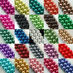 100pcs Top Quality Czech Glass Pearl Round Loose Beads 3mm 4