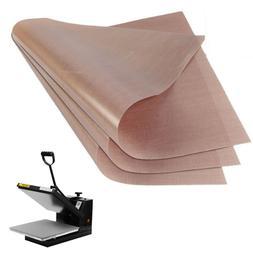 3 Pack Teflon Sheet 16x20 For Transfer Heat Press Iron Art C