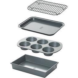 Baking Nonstick Pan Set Bakeware Cooking Toaster Oven Cookie