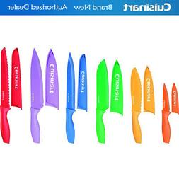 Cuisinart 12 pc Color Knife Set with Blade Guards