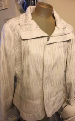Carlisle Faux Leather Jacket Sz 18 New Retail $349.00