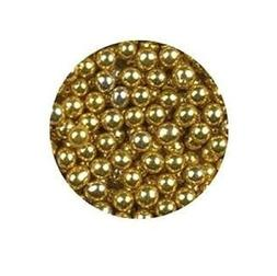 Oasis Supply Gold Dragees for Cake, Candy, Cookie Decorating