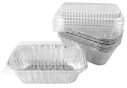 Handi-Foil 1 lb. Aluminum Foil Mini-Loaf/Bread Baking Pan w/