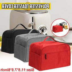Kitchen Dining Countertop Two Slice Bakeware Toaster Cover P