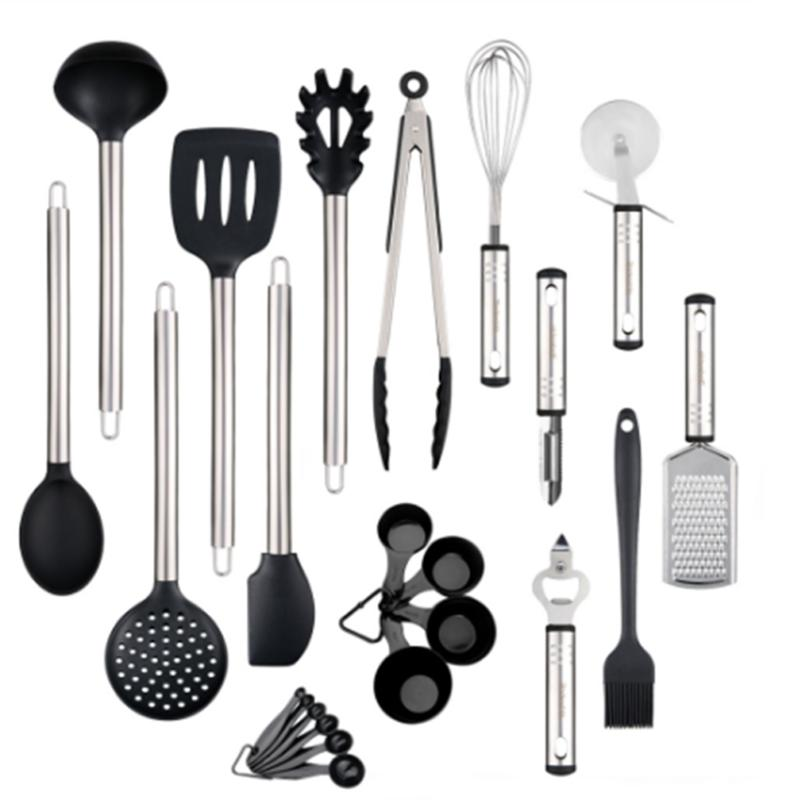 23Pcs Stainless Stick Cooking Cookware