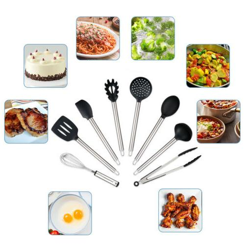 23PCS Steel Kitchen Cooking Nonstick Cookware Bakeware