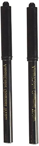 Americolor 2-Count Gourmet Writer Food Decorating Pens, Blac