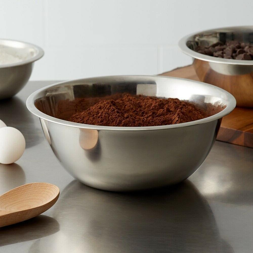 Mixing Set Stainless Steel Bakeware, Kitchenware