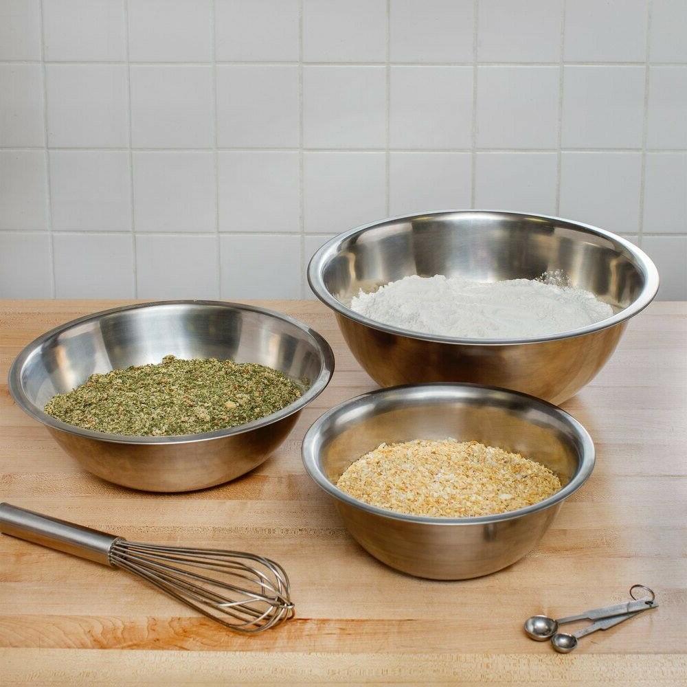 Mixing / Set Stainless Bakeware,