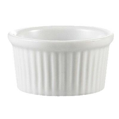 rkf festiware super white china fluted ramekin