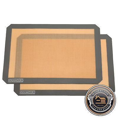 silicone baking mats nonstick heat