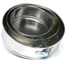 Fox Run 3 Pc Mini Springform Cake Pan Set Baking Kitchen Bak