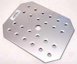 "Qty 6 Carlisle DuraPan Half-Size Drain Shelf 10-3/4"" x8-1/4"""