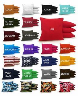 Set of 8 Cornhole Bags Regulation Size - 25 Colors -High Qua