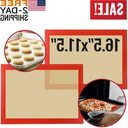 Silicone Baking Mats Sheet Bakeware Oven Non Stick Cookie Tr